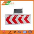 carretera de instrucciones de seguridad reflectante solar carretera signos