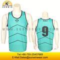 Venta al por mayor de baloncesto uniforme mujeres baloncesto tops