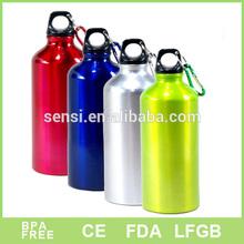 Aluminum carabiner bottle