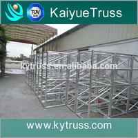 good display event round aluminum triangular roof truss