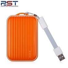 power bank in luggage designed with USB Cable