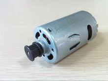 Supply massager motor belt motor pulley massaging the 12v DC motor 550