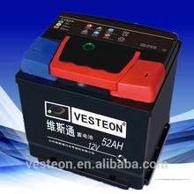 12V52ah supper powerCar battery