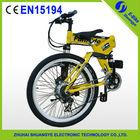 "2015 factory new 26"" 36V folding mountain electric pocket bike"