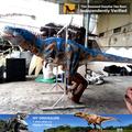 Mi dino- venta caliente raptor para adultos traje de dinosaurio