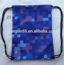 Nylon Polyester Peg Carrier Bag Cinch Sack String Bag Drawstring Backpack Sport Storage Shoe Laundry Draw String Bag