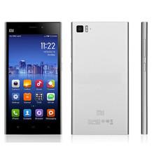 Original Xiaomi Mi3 Qualcomm Quad Core Xiaomi M3 Mobile Phones 2GB RAM 64GB ROM 5 inch 1080p 13MP Camera WCDMA