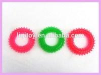 2014 new fashion TPR gel massage hand grip ring