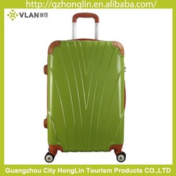 2014 travel luggage hard shell case abs pc luggage case hot sell abs luggage with spinner made in china
