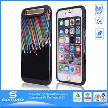elegant design best case for iphone 6 plus lanyard leather case