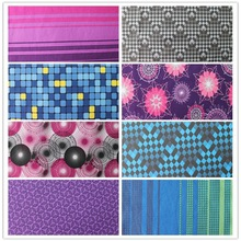 terry cloth bonded polyester fabric printed spandex