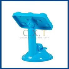 360 Degree Rotating Multifunction Placing Plate Car Mount Holder for Mobile Phone GPS Navigation & Tablet PC (Blue)