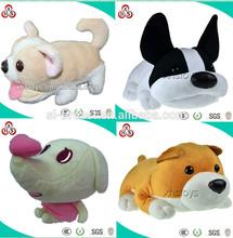 2015 Custom Cute Popular Plush Lamb Dog Toy