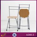 a266-2 بسيطة قابلة للطي كرسي خشب