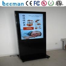 indoor advertising display indoor Leeman P7.62 SMD kiosk trade