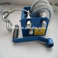 portatile 2500 £ fune piccola mano manuale winch