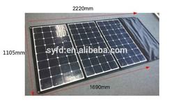Shenzhen SANYIFEIDA New folding flexible 300W 36V solar panel with SunPower cells