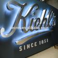 Precio de fábrica de canal iluminado letras grandes de las letras del alfabeto