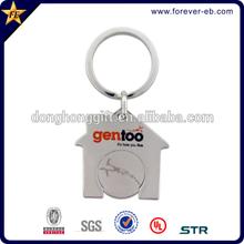 Promotional fashion design metal key chain