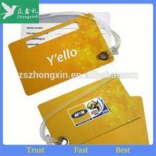 plastic luggage tag strap, customized luggage tag tie plastic, soft pvc luggage case ID tags