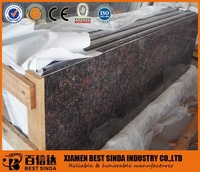 Hot sale import granite Tan Brown prefab laminate countertops