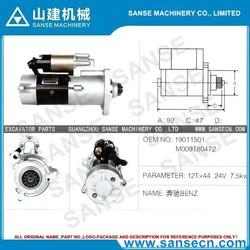 BENZ 19011501/M009T80472 starting motor