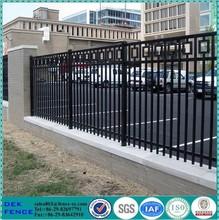 Black Ornamental Iron Craft Aluminum Fence