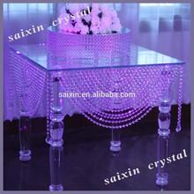 Gorgeous crystal table wedding crystal mandaps