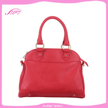 High quality customized pu leather carrier bag lady handbag
