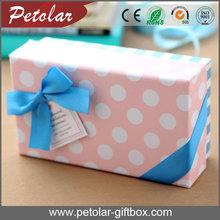 handmade exquisite polka dot macaron gift boxes