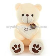 big size toy teddy bear/plush bear toy for 200cm/plush white bear toy