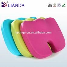 Ergonomic design for full comfort,Assists in the treatment of sciatica, Coccyx Orthopedic Ultra Comfort Foam Seat Cushion