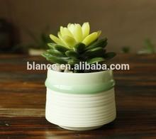 2015 new arrival ceramic fashion bonsai planter modern design