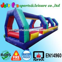 backyard raindrop slip'n dry slide, best selling kids obstacle slide inflatable