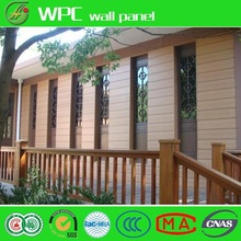 WPC Board Weather Resistance Exterior Decorative Wall Cladding WPC Fence Wood Plastic Composite Wall Panel
