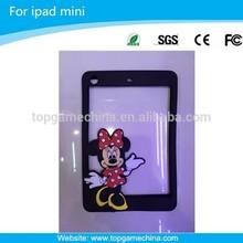 Silicon rubber case for ipad mini bumper case