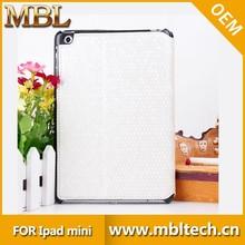 wholesale for pu+pc bling crystal diamond case for ipad mini