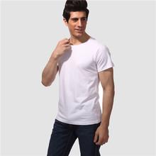 140 grams Guangzhou 100% cotton popular mens tshirt manufacture