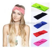 New 2014 Twist Sport Yoga Headband Bandana hijab Turban Headscarf Wrap For Women Hair Accessories
