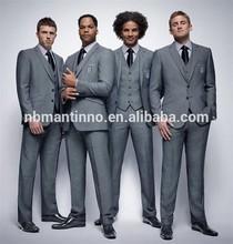 2014 formal stylelish men suit tailored made stripe design china factory