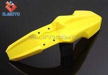Supermoto Front Fender Dirt Bike Fenders Evo Plastic Mudapron Yellow Wheel Fender Suitable to Honda KTM Suzuki Kawasaki