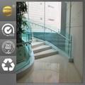novo produto de vidro corrimão escadas com corrimão em aço inox