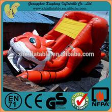 2015 inflatable tiger slide,bouncy inflatable slide,tiger inflatable slides for sale