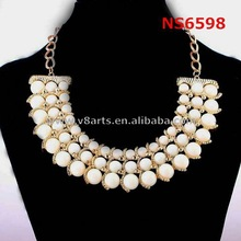 China wholesale bead jewelry feather necklace wholesale silver jewelry