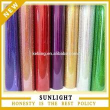 Glitter cutting transfer film for cotton fabric film heat transfer vinyl glitter