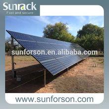 solar ground screw mounting/SFS-GM-02 solar ground mounted