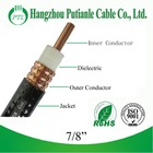 "high quality 50 Ohm 7/8"" tv cable China manufacturer"