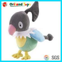 Hot factory low price plush singing bird toy