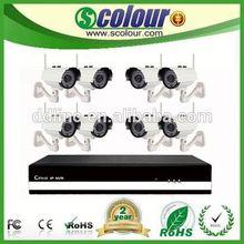 8 CH wifi 1/3 sony ccd wireless cctv camera system system