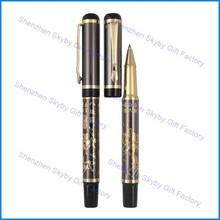 MP167 Metal Eight Horse Engrave Ballpoint Pen